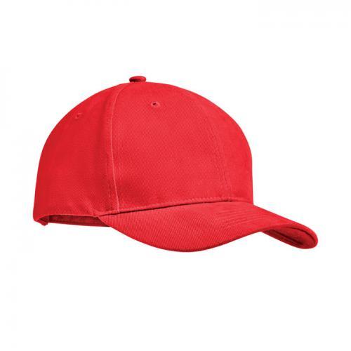 Czapeczka bejsbolowa czerwony
