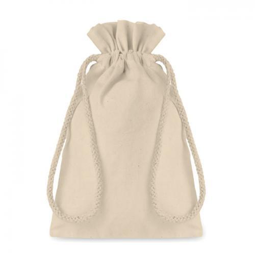 Mała bawełniana torba beżowy