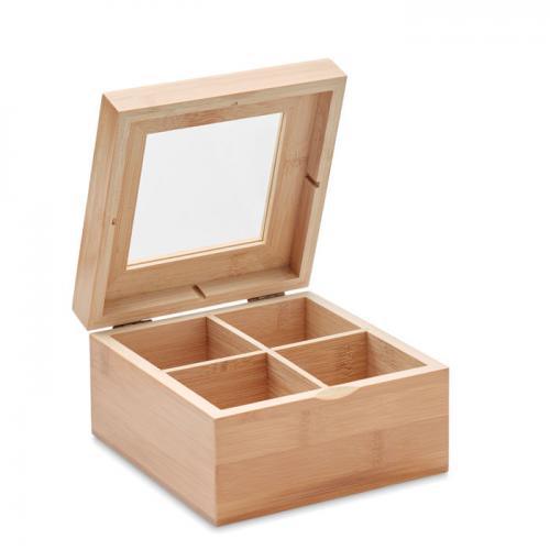 Bambusowe pudełko drewna