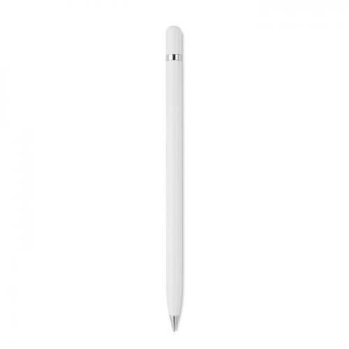 Długopis bez atramentu biały
