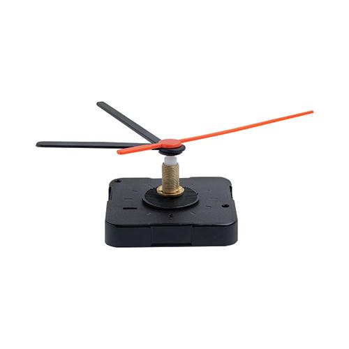 Mechanizm zegara 22 mm, ruch ciągły Czarny