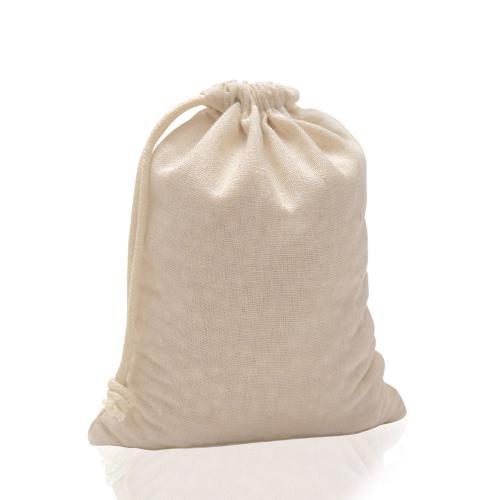 Worek z bawełny 100% 180 g/m2, ze sznurkiem Natural