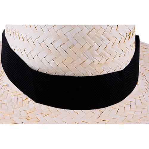 Tasiemka non-woven do kapelusza Biały