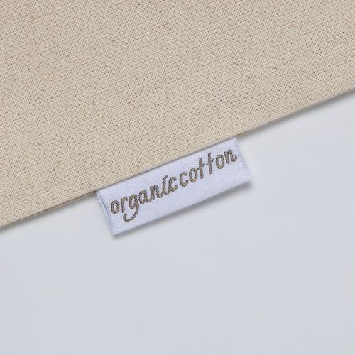 Torba 100% bawełny organicznej 140 g/m2 z certyfikatem GOTS Natural