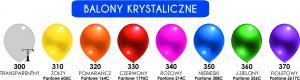 "Balon lateksowy 11"" (cali) Krystalik"