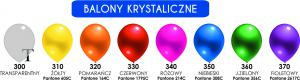 "Balon lateksowy 12"" (cali) Krystalik"