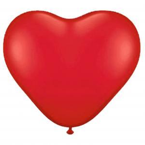 Balon lateksowy serce