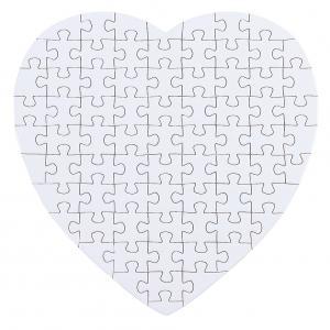 Puzzle w kształcie serca - 75 elementów