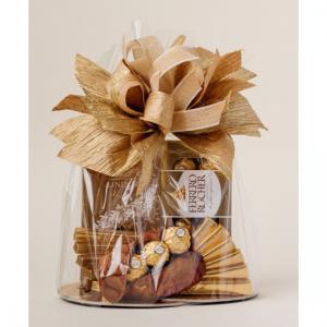 Kosz prezentowy - Lindt, Ferrero