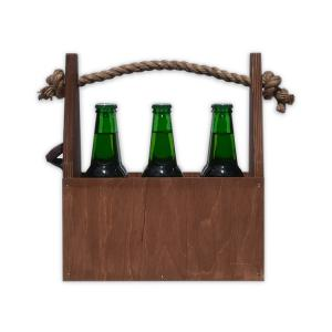 Nosidło na piwo Brązowy