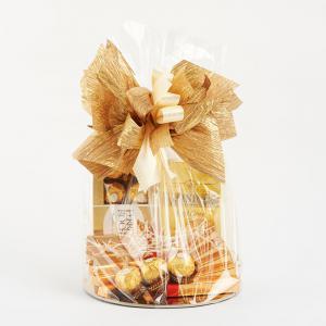 Kosz prezentowy - Ferrero Rocher, herbata Twinings