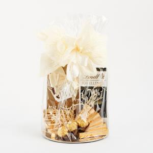Kosz prezentowy - Lindt, czekoladki Frutti di Mare