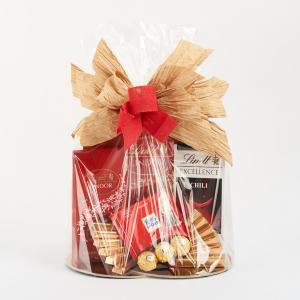 Kosz prezentowy - Lindt czekolada Chili