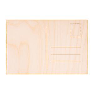 Drewniana kartka świąteczna 10x15 cm