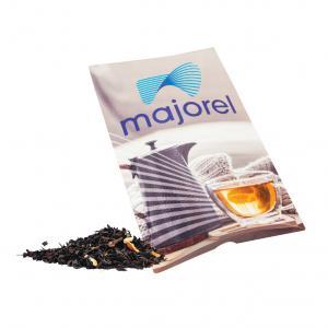 Czarna herbata ze skórką pomarańczową