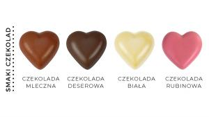 CZEKOLADOWE SERCA CZEKOLADOWE SERCA Biała czekolada