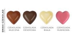 CZEKOLADOWE SERCA CZEKOLADOWE SERCA mix 2 kolorowy