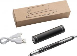 Power bank i długopis touch pen SIENA