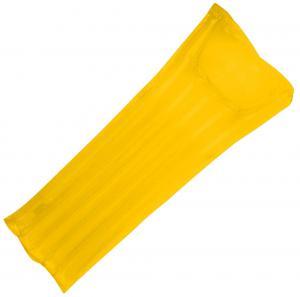 Materac dmuchany LONG BEACH żółty