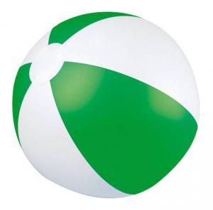 Piłka plażowa dwukolorowa KEY WEST zielony