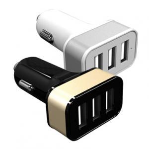 Ładowarka samochodowa z 3 wejściami USB