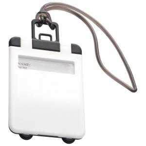 Identyfikator bagażu KEMER biały