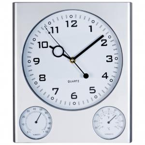 Zegar ścienny plastikowy DEN HAAG