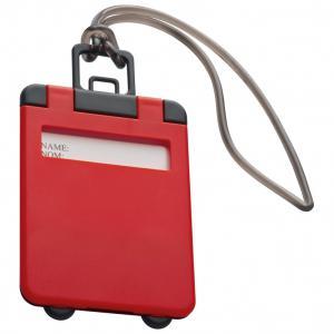 Identyfikator bagażu KEMER czerwony