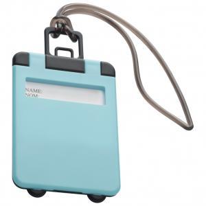 Identyfikator bagażu KEMER jasnoniebieski