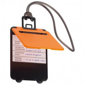 Identyfikator bagażu KEMER pomarańczowy