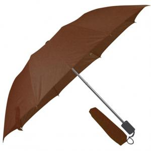 Parasolka manualna LILLE Brąz
