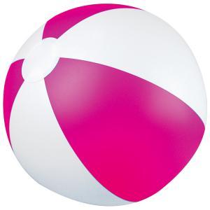 Piłka plażowa dwukolorowa KEY WEST różowy