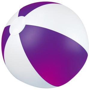 Piłka plażowa dwukolorowa KEY WEST fioletowy