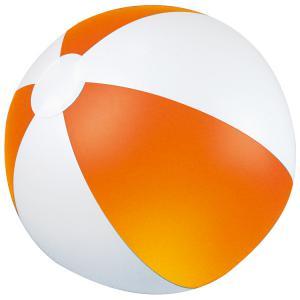Piłka plażowa dwukolorowa KEY WEST pomarańczowy