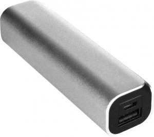 Power bank (zewnętrzny akumulatorek) Srebrny / grafitowy