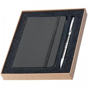 Zestaw notes A6 i długopis HAMBURG