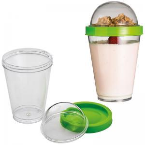 Kubek na jogurt plastikowy MODENA
