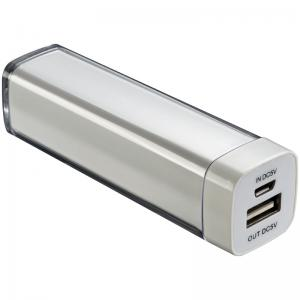 Power bank plastikowy MALIBU 2200mAh