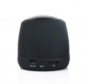 Aluminiowy głośnik Bluetooth Czarny