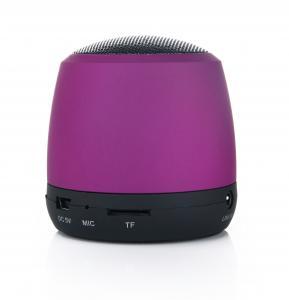 Aluminiowy głośnik Bluetooth Fiolet