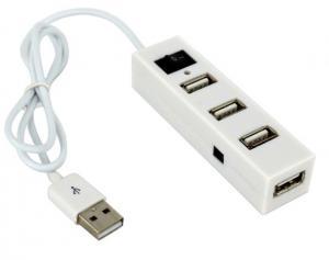 Miniaturowy HUB z wyłącznikiem 4x USB 2.0