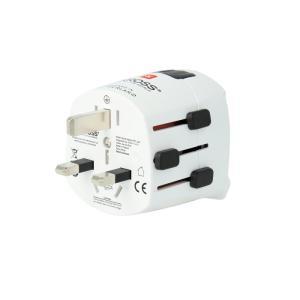 Adapter podróżny PRO Light z USB SKROSS
