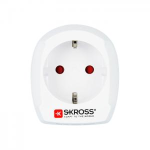 Adapter EUROPA na UK bez USB SKROSS