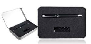 Zestaw upominkowy długopis + pendrive Silicon Power 8GB