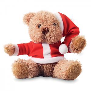 Miś w świątecznym ubranku.     CX1395-