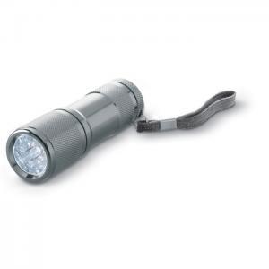Latarka z 9 białymi LED