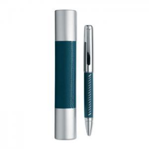 Długopis w aluminiowej tubie