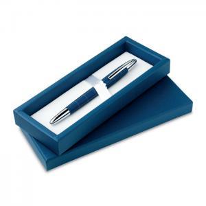 Długopis ze wzorem siateczki granatowy