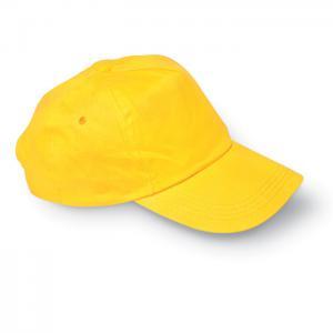 Czapka baseballowa żółty