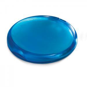 Plastikowa mydelniczka przezroczysty niebieski